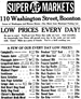 detailed Super Markets ad