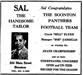 detailed Sal The Handsome Tailor ad