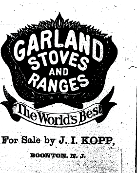 Detailed newspaper clip about stoves and ranges from the 1880's