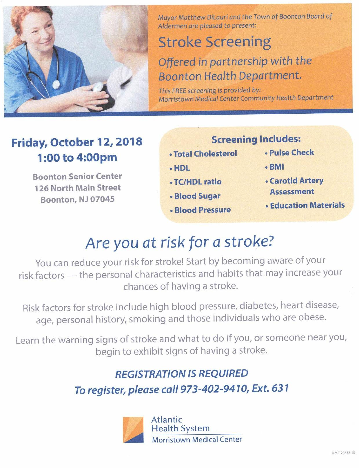 Stroke Screening