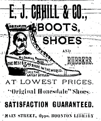 detailed ad about boots