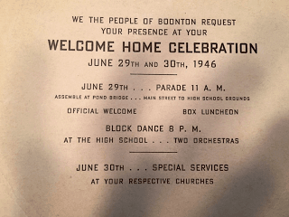 Detailed Welcome Home Celebration program