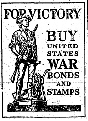 detailed war bonds ad