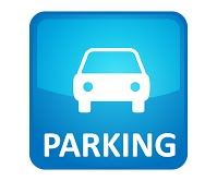 Car Parking Sign in blue