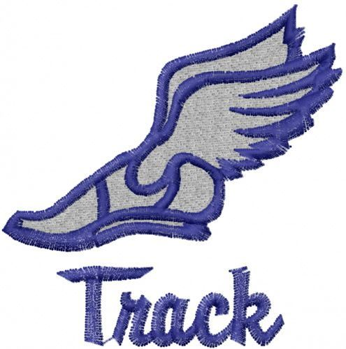 track and filed icon