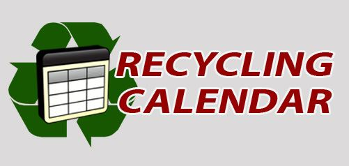 recycle calendar button
