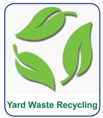 Yard Waste Recycling Icon