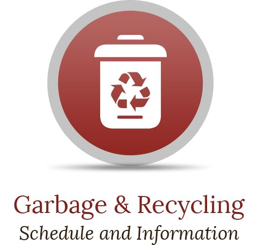 Garbage & Recycling Button