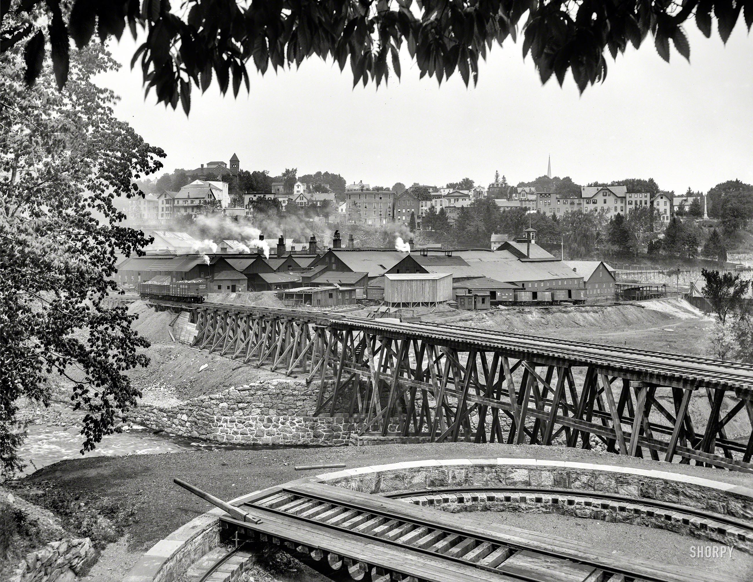 old photo of boonton iron works (circa 1900)